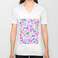 icecream V-neck T-shirts featuring ICECREAM by Isabella Salamone