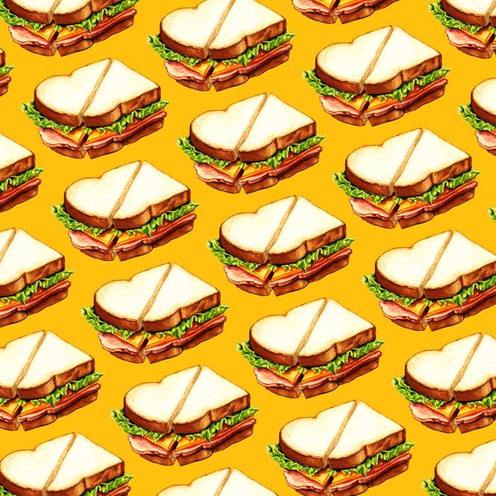 Ham Sandwich Pattern Leggings