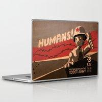 propaganda Laptop & iPad Skins featuring Propaganda Series 6 by Alex.Raveland...robot.design.digital.art