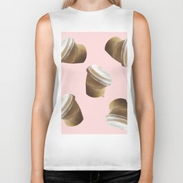 Coffee Art Biker Tank