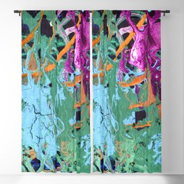 CRAZY PLAY OF COLORS-1 Blackout Curtain
