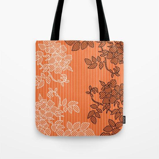 SPRING IN ORANGE Tote Bag