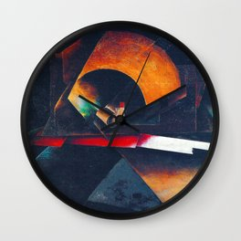 El Lissitzky Composition Wall Clock