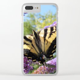 Tiger Swallowtail Clear iPhone Case