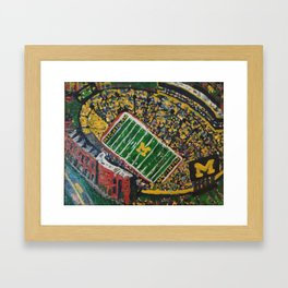 Big House Framed Art Print