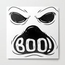 GHOST BOO Metal Print