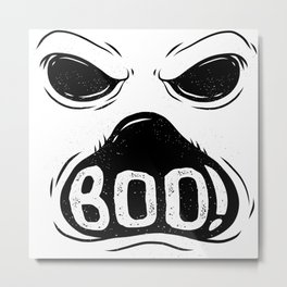 GHOST BOO Metal Print