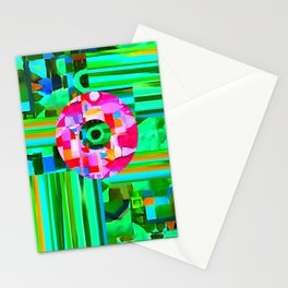 Abstract #302 Stationery Cards