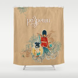 Allow yourself Shower Curtain