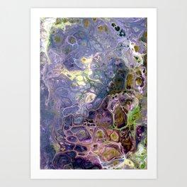 Freeform 25 - Coral Reef Abstract - Flow Acrylic Original Art Print