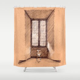 Altemps Window Shower Curtain