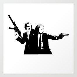 Chopin & Liszt - Gangsters Art Print