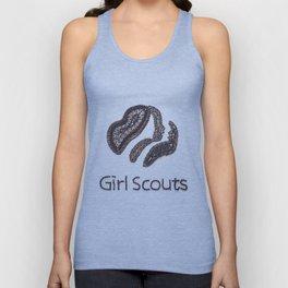 004: Girl Scouts - 100 Hoopties Unisex Tank Top