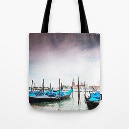 Venice gondolas, San Marco plaza Tote Bag