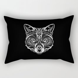Fox Ornate Rectangular Pillow
