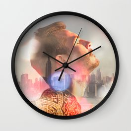 Life Is Easy Wall Clock