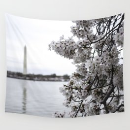 Capital in Spring Wall Tapestry