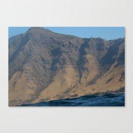 Surfacing in Komodo Canvas Print