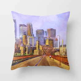 The city is calling my name today. Throw Pillow