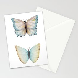 Butterfly watercolor Stationery Cards