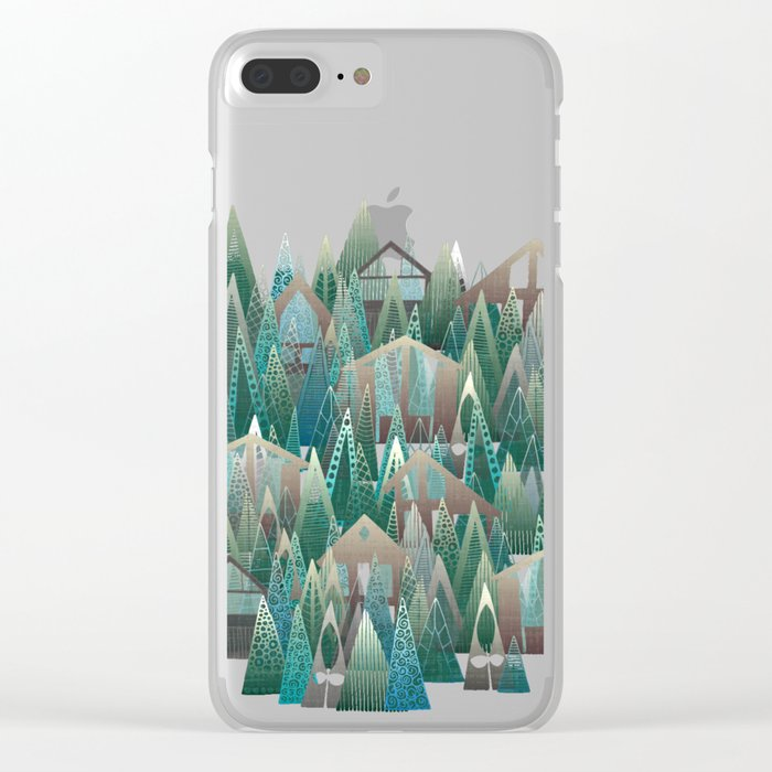 wildwood Clear iPhone Case