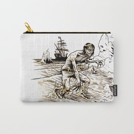 Out of the Sea of Red Carry-All Pouch