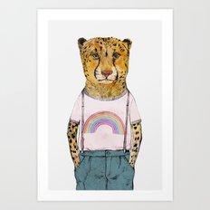 Little Cheetah Art Print