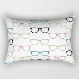 Colorful Funky Glasses Rectangular Pillow
