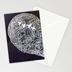 Ancient figures Stationery Cards