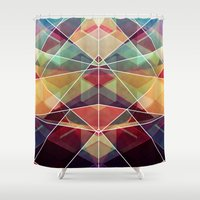 journey Shower Curtains featuring Journey by VessDSign
