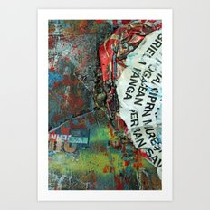 Layered 2 Art Print