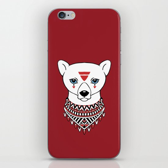 Tribal Bear iPhone & iPod Skin