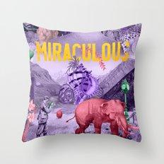 Miraculous Throw Pillow