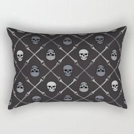 Skull n Bones Rectangular Pillow