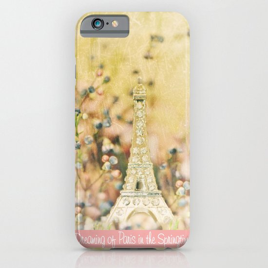 Dreaming of Paris in the Springtime... iPhone & iPod Case