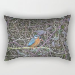 Kingfisher. Rectangular Pillow