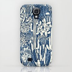 Indigo cacti Slim Case Galaxy S4