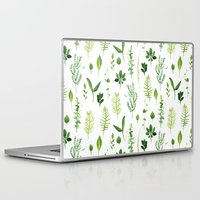 leaves Laptop & iPad Skins featuring Leaves by Vicky Webb