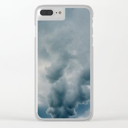 Billow of Smoke Clear iPhone Case