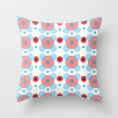 Dots Bubbles  Throw Pillow