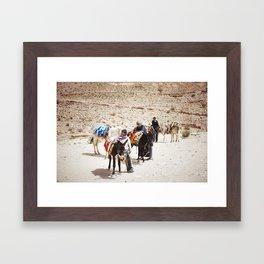 Petra, Jordan Framed Art Print