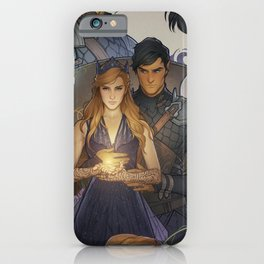 Wings and Ruin iPhone Case