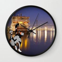 River Street Roamers Wall Clock