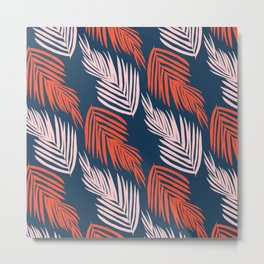 Blue Palms Metal Print