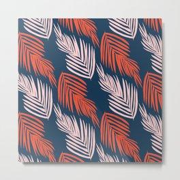 Blue Palms Metal Print