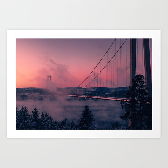 Cool Mornings Art Print