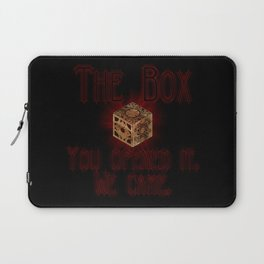 Hellraiser The Box You Opened It Laptop Sleeve