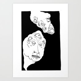 what is anything? Art Print