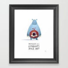 Monster Diets No.1 Framed Art Print