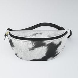Spotted Cowhide Fanny Pack